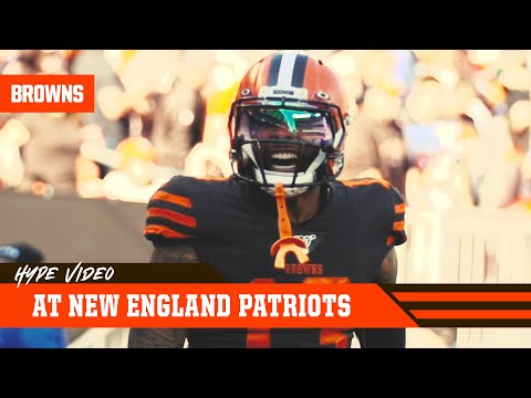 Browns vs. Patriots Hype Video (Week 8) | Cleveland Browns