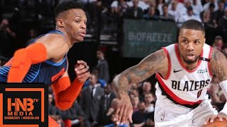 Oklahoma City Thunder vs Portland Trail Blazers - Game 5 - Full Game Highlights | 2019 NBA Playoffs