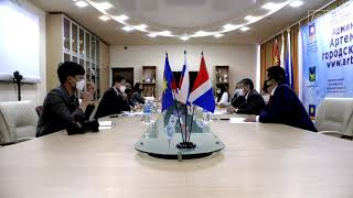 В Артёме прошла встреча с Ген. консулом Республики Корея во Владивостоке
