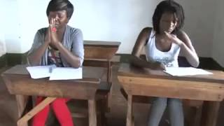 Kansiime Anne has a vision to copy in an exam on Minibuzz