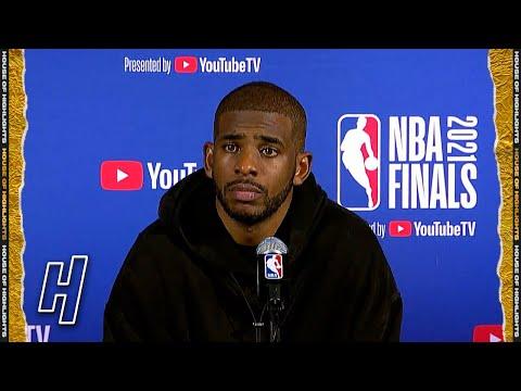 Chris Paul Full Postgame Press Conference - Game 6 - Suns vs Bucks | 2021 NBA Finals