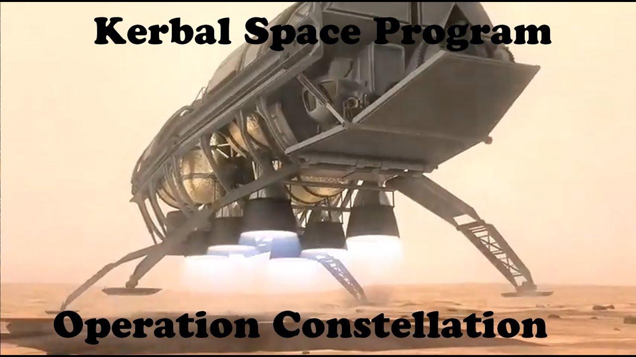 Constellation Mars lander - Kerbal Space Program - YouTube