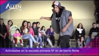 Actividades en la Escuela Nº80