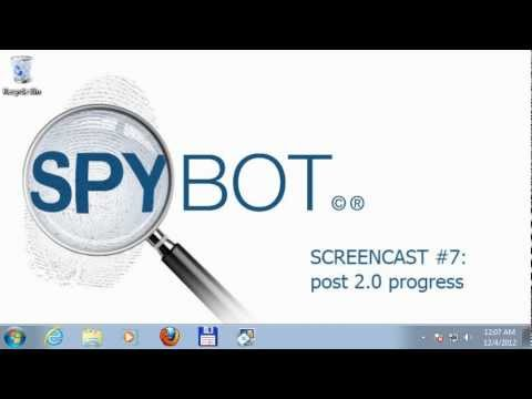 Screencast #7: from post 2.0 development progress