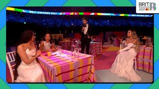 Jack Whitehall interviews Little Mix | The BRIT Awards 2021