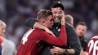 Players in tears! Incredible scenes at the final whistle as Liverpool win a SIXTH Champions League