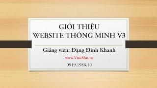 Website Thông Minh - Giải pháp kinh doanh trực tuyến đột phá