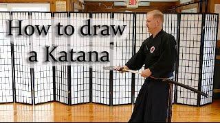 How to draw a Katana