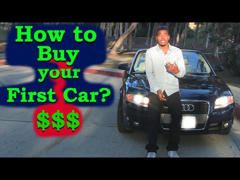 How to Buy your First Car from a Dealer: Finance Method