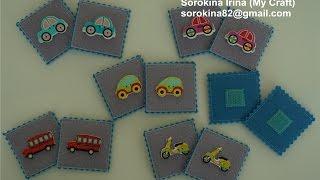 DIY Felt memory game tutorial / МК Мемори из фетра
