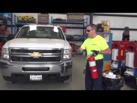 SAFETY SERIES: How to extinguish a fire