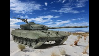 T-72  Russian Main Battle Tank   - Revell, 1/72 scale -