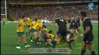 Last 6 Minutes All Blacks Wallabies Bledisloe Cup 2014