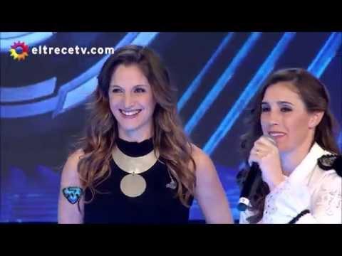 Soledad y Natalia Pastorutti en Showmatch (2016) - UltraHD