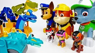 The Big Monsters Are Coming~! Go Jumbo Chase Rubble Rocky - ToyMart TV