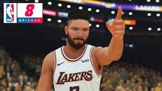 NBA 2K19 My Player Career - Part 8 - FIRST NBA GAME