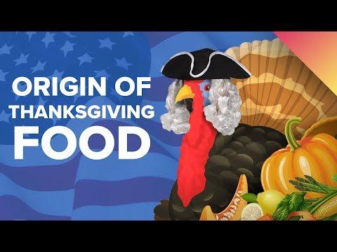 The Surprising Origins of Thanksgiving Foods