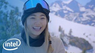 U.S. Olympic Hopeful Chloe Kim on the Mountain | Intel