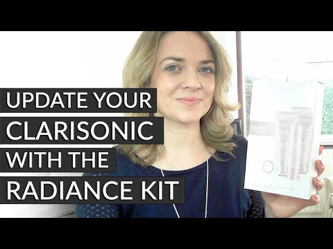Customise your Clarisonic with the Radiance Kit by CURRENTBODY