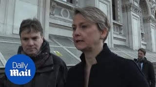 Yvette Cooper and Hilary Benn comment after cabinet meeting
