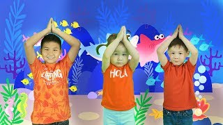 Baby Shark Song & Dance | AYA VLOG | Kinderlieder
