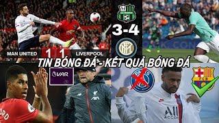 🔥Tin bóng đá 21/10|Kết quả NHA:  Rashford nổ súng, MU chấm dứt mạch toàn thắng của Liverpool!