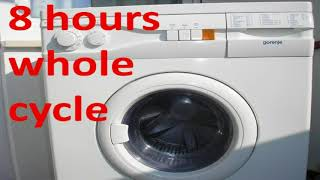 8 hours sound of washing machine - Ambient Sounds for Deep Sleeping