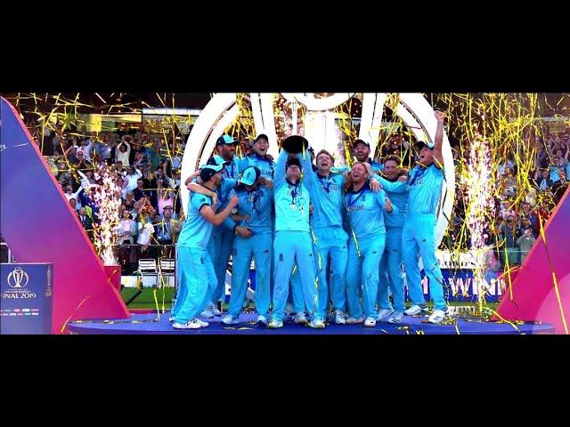 ICC #CWC19: Congratulations Team England