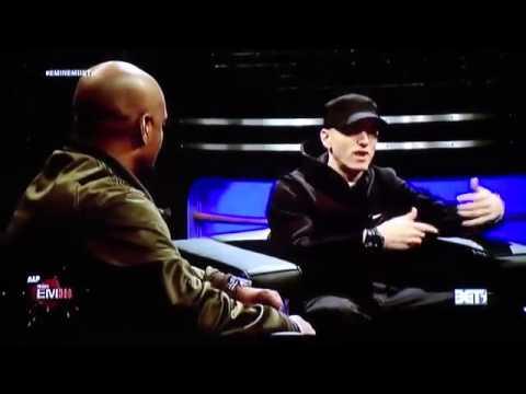 Eminem Interview 2013 - MMLP2 - 106 & Park (Part 2)