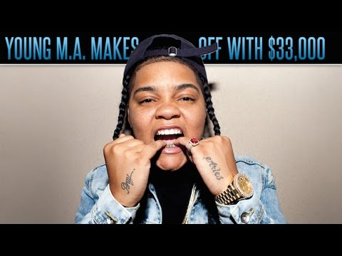 Promoter Claims Young M.A. Finessed Him Out of 33K - The Drop Presented by ADD