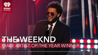 The Weeknd Acceptance Speech - Male Artist Of The Year | 2021 iHeartRadio Music Awards