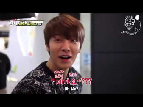 [JHH][Engsub] A war between the dumb and the dumber - Guest House BTS Donghae Eunhyuk