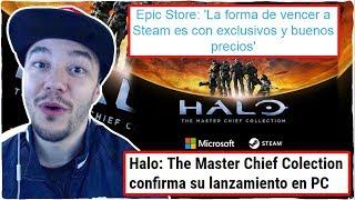 EPIC GAMES intenta JUSTIFICAR su política de JUEGOS EXCLUSIVOS y HALO: MCC llegará a PC/STEAM