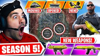 EVERYTHING *NEW* in WARZONE SEASON 5 😮 (UNLOCKED!)