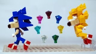 How to Build LEGO Sonic the Hedgehog & Super Sonic