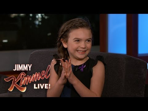 Seven-Year-Old Actress Brooklynn Prince on The Florida Project