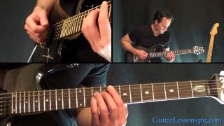 Seek and Destroy Guitar Lesson - Metallica - Main Riffs