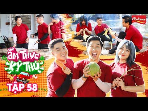 Ẩm Thực Kỳ Thú #58: Nguyên Khang, Lương Minh Trang rủ nhau lên rừng nấu đặc sản