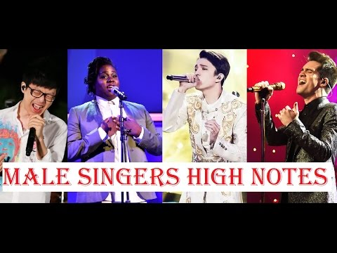 Male Singers - Best High Notes!!