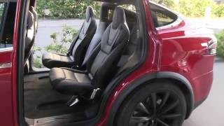 Model X 3rd row legroom for 6 seat configuration part 2