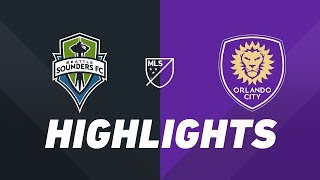 Seattle Sounders FC vs. Orlando City SC | HIGHLIGHTS - May 15, 2019 - YouTube