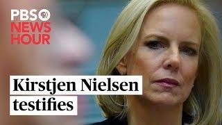 WATCH: Kirstjen Nielsen testifies on border security, future of border wall