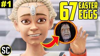 Star Wars: BAD BATCH 1x01: Every EASTER EGG + Omega Heritage EXPLAINED | Full BREAKDOWN