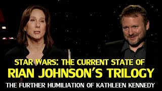 Star Wars: Bob Iger's comments, Rian Johnson's Trilogy & Kathleen Kennedy's Humiliation