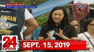 24 Oras Weekend: Sept. 15, 2019 [HD]