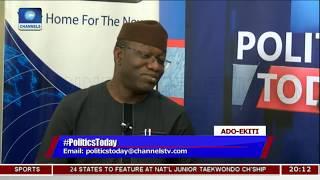 Ayo Fayose Is The Common Enemy Of APC And Ekiti State - Fayemi |Politics Today|