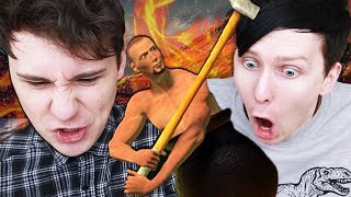 THE LITERAL EMBODIMENT OF RAGE - Dan and Phil Play: Getting Over It!
