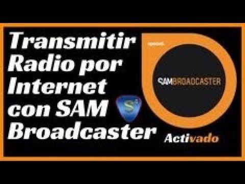 Configurar Sam Braodcaster - Trasmitir Radio