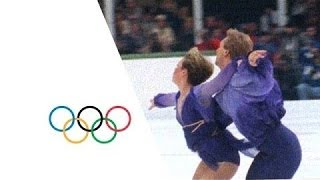 Torvill and Dean's Relive Their Unforgettable Bolero - Ice Dancing - Sarajevo 1984  | Olympic Rewind
