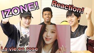 [MV] 【아이즈원~La Vie en Rose~】일본사람이 한국어로 하는 K팝 리액션!!